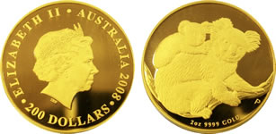2 oz コアラ金貨