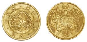明治金貨 旧五圓(5円)
