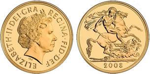 Crown ソブリン金貨