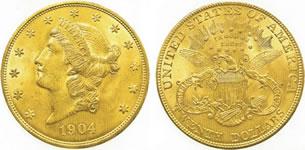 20ドル リバティ金貨