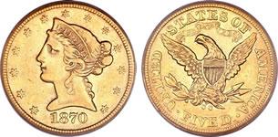 5ドル リバティ金貨